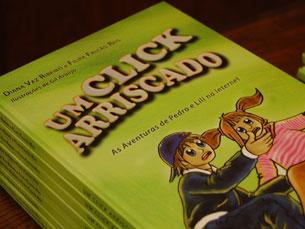 O objectivo do livro é ajudar as crianças a navegar com segurança na Internet Foto: Sandra Gomes