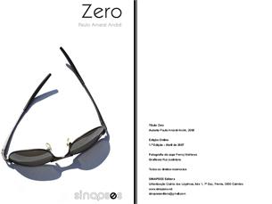 Zero, de Paulo Amaral André, é um dos livros do catálogo da Sinapses Foto: DR