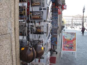 A maioria das lojas pertence a comerciantes do Bangladesh Foto: Filipa Flores