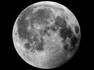 A Lua é o único satélite natural da Terra Foto: Paul/Flickr