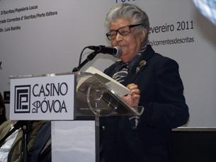 Luísa Dacosta foi homenageada na 10ª edição da revista Correntes d'Escritas Foto: Rosa Matos