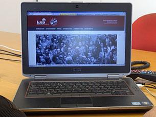 """O site """"25 de abril, 40 anos"""" foi apresentado na Assembleia da República Foto: JPN"""
