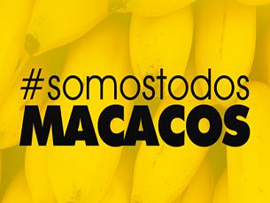 Depois do gesto do lateral brasileiro, o movimento correu mundo através das redes sociais Foto: DR