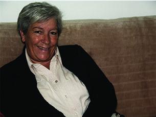 """Um ano antes da Revolução sair à rua, Maria Natália Xavier deu um """"salto entre mundos"""" e foi porto de abrigo para muitos militares Foto: Patrícia do Vale"""