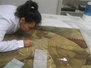 A área de conservação do papel é das menos desenvolvidas em Portugal Foto: Conservation Clinic