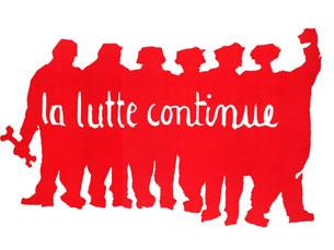 Um dos cartazes do Maio de 68 Foto: Fundação Mário Soares