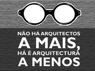 A associação pretende fazer pressão para melhorar a Arquitectura em Portugal Foto: DR