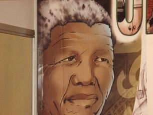 Mandela, Nobel da Paz, esteve preso durante 27 anos, pela luta contra o regime sul