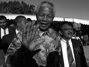 Mandela ergueu um país, unificou