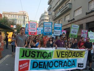 A concentração está prevista para as 16h00 no Rossio onde seguirá até São Bento Foto: Marta Gonçalves / Arquivo JPN
