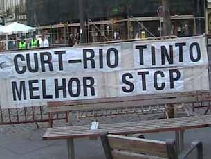 STCP continua a ser alvo de críticas Foto e vídeo: Alexandra Pinto e Rita Oliveira