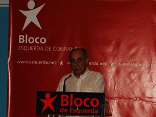 João Semedo destacou as principais metas do Bloco de Esquerda para o distrito do Porto Foto: Diana Ferreira