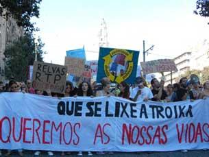 No Porto, a concentração está marcada para as 19h45, em frente à Reitoria da UP Foto: Sara Rodrigues