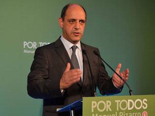 Manuel Pizarro elogiou o povo portuense, por este ter mostrado que manda na cidade Foto: Alberto Seixas