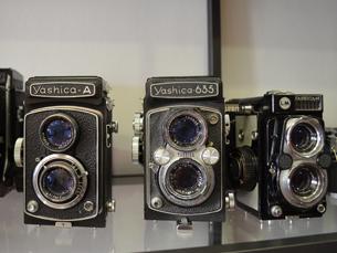 As vendas de máquinas analógicas cresceram bastante nos últimos meses, explicam os vendedores Foto: Marta Lago
