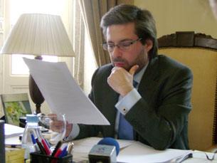 Marco António Costa ainda não é candidato oficial, mas já tem o apoio do atual presidente da Câmara Foto: Marisa Pinho/Arquivo JPN