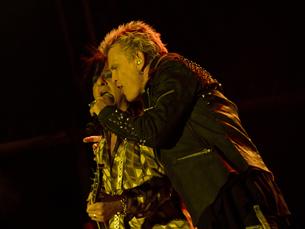 Billy Idol protagonizou um dos momentos da terceira noite do Marés Vivas 2012 Fotos: Inês Delgado