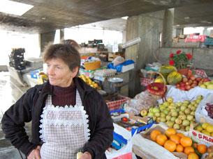 Maria Comunista vive há 70 anos na Rua Escura Foto: João Nápoles
