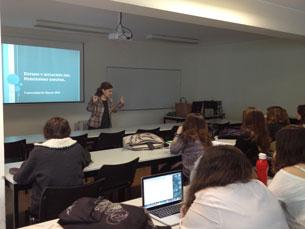 Maria Luisa Sánchez trouxe o Infoactualidad ao Porto e apresentou
