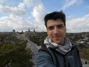 Mateus Brandão, de 29 anos, foi do ponto mais norte da Europa ao ponto mais sul de África em sete meses Fotos: Mateus Brandão