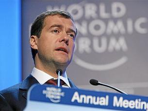 Dimitri Medvedev recebeu 68 por cento dos votos. Autor: Flickr