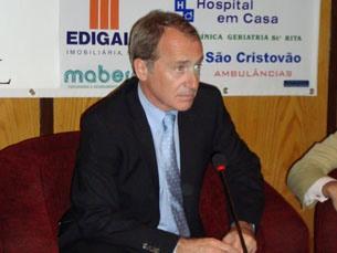 Luís Filipe Menezes foi o convidado de honra no quarto aniversário do Clube de Pensadores Foto: Ana Mendes