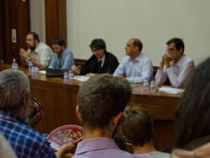 Quatro dos candidatos à Câmara Municipal do Porto reuniram