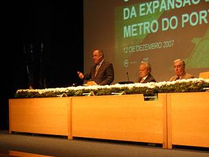 Oliveira Marques salientou a importância da parceria com a FEUP Foto: Cristiana Afonso