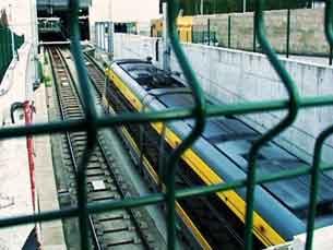 Trabalhadores do Metro do Porto em greve Foto: Ricardo Fortunato / Arquivo JPN