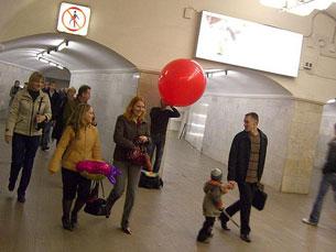 A campanha vai envolver a distribuição de balões que apelam à dádiva de sangue Foto: Leszek Golubinski/Flickr