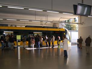 Apesar da dívida, 2011 foi um ano de mudança na Metro do Porto e a procura aumentou Foto: António Gonçalves