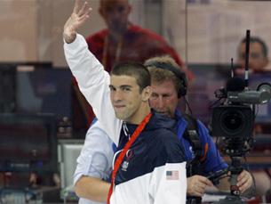 Michael Phelps tornou