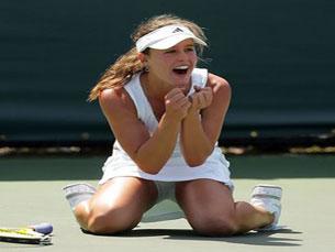 Michelle faz história em Roland Garros Foto: DR
