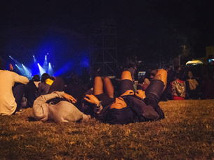 No segundo dia oficial de festival, os festivaleiros, talvez por cansaço, mostraram