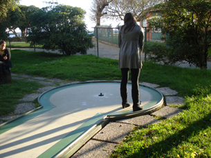 O Minigolfe surgiu como alternativa ao golfe Foto: Teresa Castro Viana