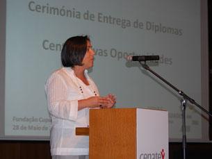 """Programa Novas Oportunidades é """"exemplar"""", diz ministra do Trabalho Fotos: Andreia Cartaxo e Alexandra Ferreira"""