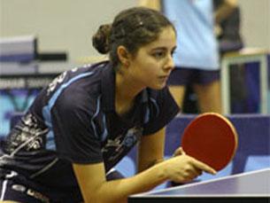 Os jornais e a televisão não dão importância nenhuma ao ténis de mesa, lamenta a atleta Foto: DR