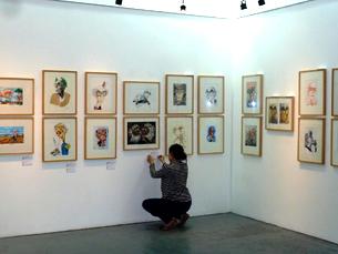 A exposição, com mais de 400 trabalhos de vários artistas, está patente até final de dezembro no MNI Foto: DR/MNI