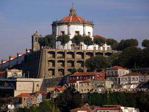 Mosteiro da Serra do Pilar vai servir para promover o património da região Foto: aranmanoth/Flickr