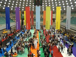 As actividades de sábado da Mostra da UP poderão ser seguidas via Twitter Foto: DR