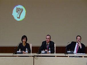 Uma das sessões do ciclo de debates Foto: JPN