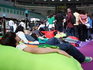 Jovens dominaram entre os visitantes da 7º Mostra da UP Foto: JPN