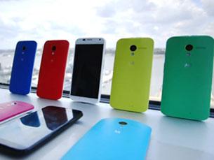 O Moto X tem na personalização do telemóvel, como é o caso das cores, um dos principais trunfos Foto: DR