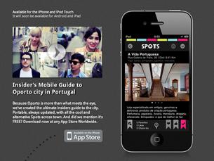 """Na primeira semana, o """"moveOporto"""" atingiu os três mil downloads Foto: DR"""