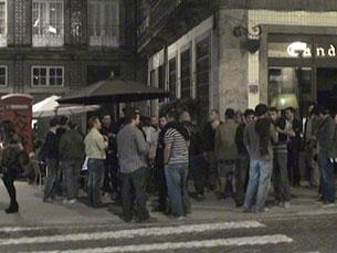 A vida noturna da Baixa do Porto vai estar mais vigiada nos próximos meses Foto: JPN
