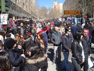 Os espanhóis estão divididos relativamente às medidas anunciadas por Zapatero. Foto: Nuno de Noronha