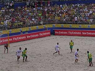 Brasil venceu por uma margem de seis golos o México Foto: Mariana Monteiro