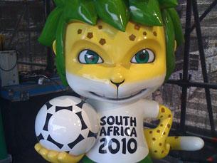 O Mundial de Futebol 2010 decorre de 11 de Junho a 11 de Julho, na África do Sul Foto: Daniela Espírito Santo