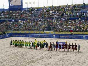 Vitória brasileira no encontro entre os campeões mundial e europeu Foto: Mariana Monteiro