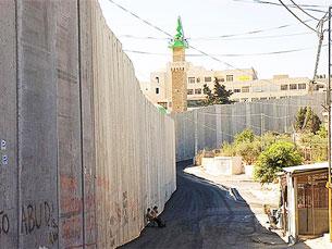 Muro que separa Israel da Palestina é necessário, diz Ehud Gohl Foto: Cajetan Barretto/Flickr